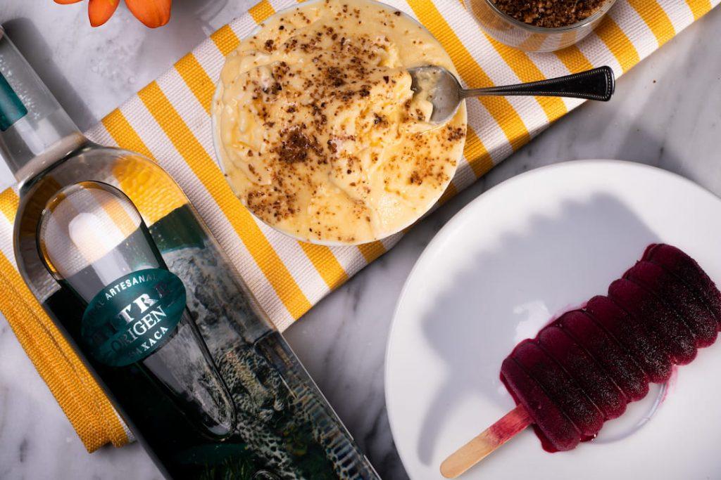 ¡Descubre los nuevos sabores de helado y paleta de Mezcal Mitre y Casa Visconti!